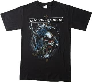 KINGDOM OF SORROW- Behind The Blackest Tears T Shirt NEW Crowbar Jasta Metal Relapse (Small)