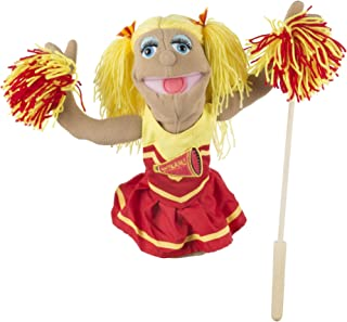 Melissa & Doug Cheerleader Puppet with Detachable Wooden Rod (Puppets & Puppet Theaters, Animated Gestures, Inspires Creativity, Great Gift for Girls and Boys - Best for 3, 4, 5 Year Olds and Up)