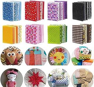 """150Pcs 4"""" x 4"""" (10cm x 10cm) Cotton Craft Fabric Bundle Squares,Squares Sheets Patchwork,Pre-Cut Quilt Squares,DIY Sewing ..."""