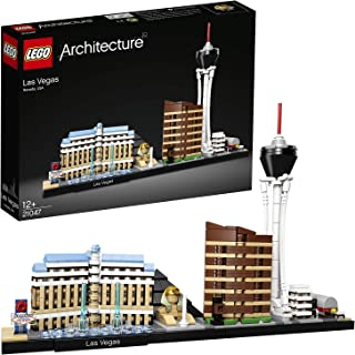 LEGO Architecture Las Vegas for age 12+ years old 21047