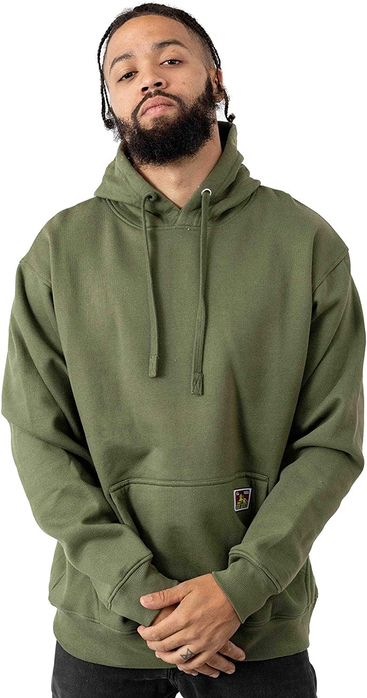 BEN DAVIS Men's Heavyweight Hooded Pullover Sweatshirt