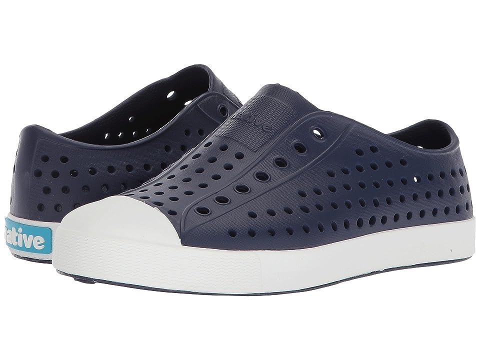 Native Kids Shoes Jefferson (Little Kid/Big Kid) (Regatta Blue/Shell White) Kid