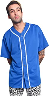 Victorious Men's Two Tone Baseball Jersey
