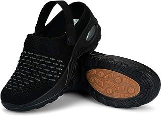 Mishansha Zuecos Mujer Zapatillas de Jardín Antideslizante Transpirable Sandalias de Playa, Gr.36-42 EU