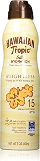 Best hawaiian tropic spray spf 15 Reviews