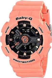 Casio Womens BA-111-4A2CR Baby-G-Digital Orange Watch