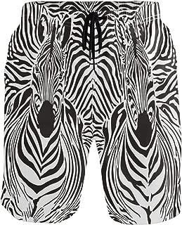 Best mens zebra swim trunks Reviews