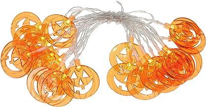 UKCOCO Halloween Platte Pompoen Led String Licht- Halloween Verlichting Decoratie Licht/Led Batterij- Aangedreven Fairy Li...
