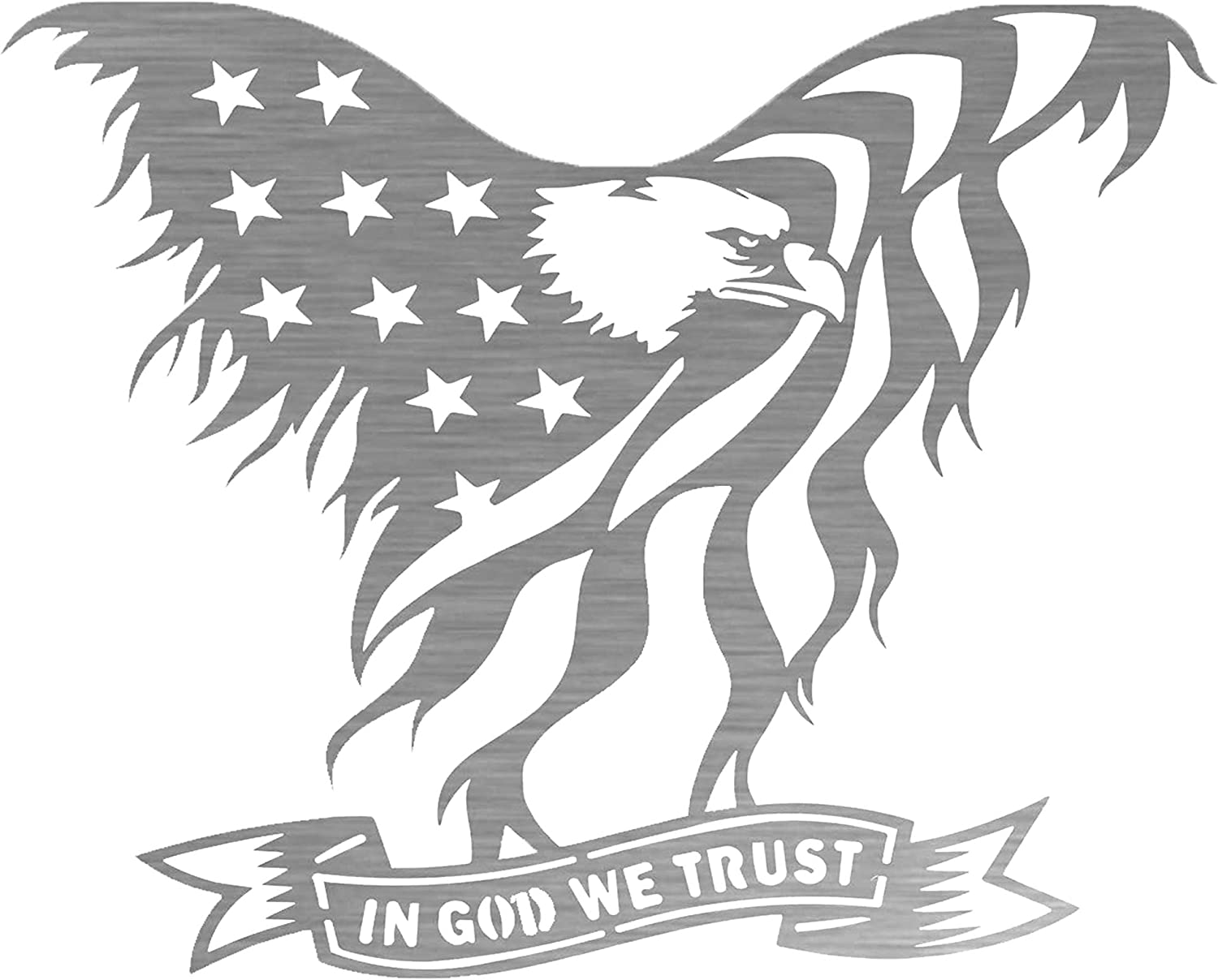 Precision Metal Art Laser Cut Steel Eagle Wall quality assurance Purchase with American