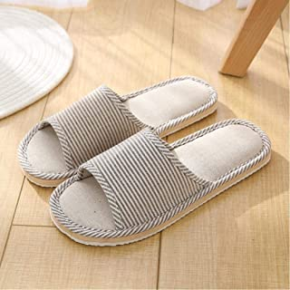 Household Slippers Herringbone Slippers Linen Slippers