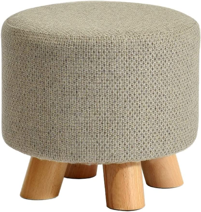 Makeup Stool Change Shoe Small Solid Footstool Bench Durabl Mesa Mall Max 70% OFF Wood