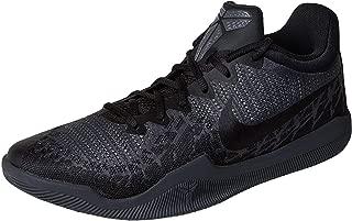 Nike Men's Kobe Mamba Rage Basketball Shoes (9.5, Black/Dark Grey-M)