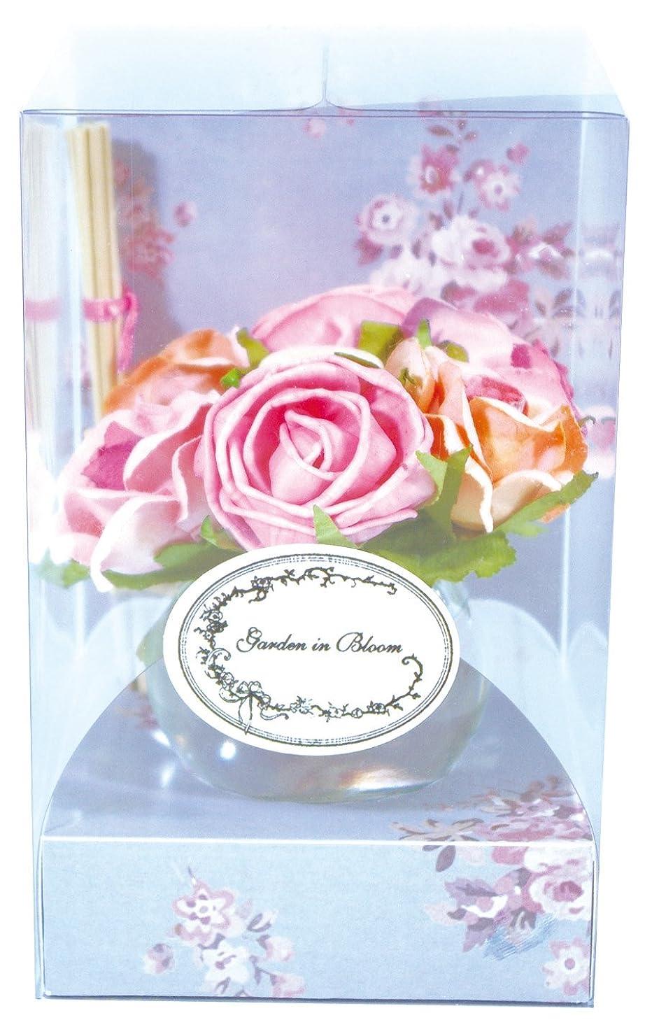 ピアースファンネルウェブスパイダー花に水をやるノルコーポレーション ガーデンインブルーム ルームフレグランス ローズベルジュの香り 70ml OA-GIB-2-1