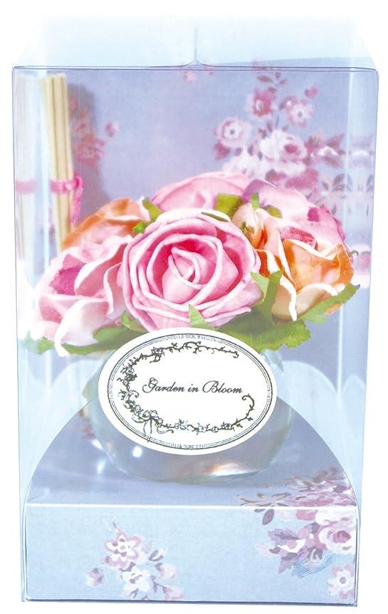 氷先入観病ノルコーポレーション ガーデンインブルーム ルームフレグランス ローズベルジュの香り 70ml OA-GIB-2-1