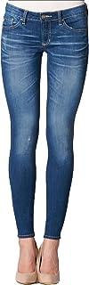 DEAR JOHN Women`s Joyrich Ankle Skinny Jeans Blue Oyster