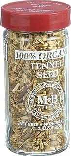 Morton & Bassett Fennel Seed Organic, 1.2 lb
