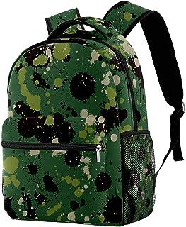 حقيبة ظهر كاجوال حقيبة كتب للمدرسة الثانوية والمدرسة الثانوية التنزه والتخييم Daypack الزنبق الأحمر