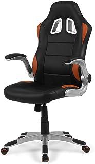 Due-Home - Silla de Oficina Gaming, sillón Giratorio para