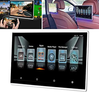 """Reprodutor de vídeo com encosto de cabeça de carro de 11,6""""com Wifi,Android Tablet Monitor ultrafino,Monitor de TV do banc..."""