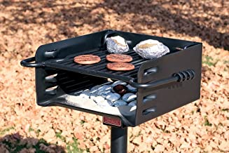 Pilot Rock Heavy-Duty Park-Style Grill - Model# H-16 B6X2