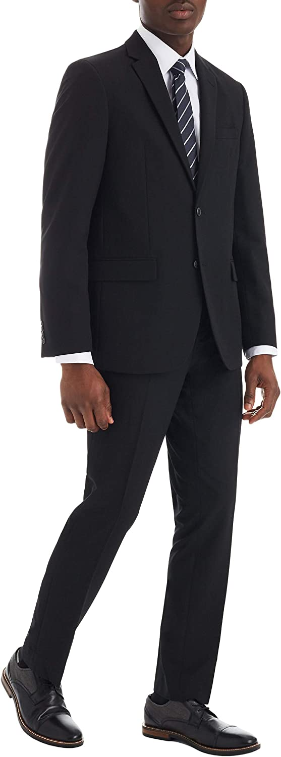 Ben Sherman Modern Slim Fit Bi-Stretch Mens Suit Separate Blazer- Suit Jacket and Suit Pants (Big & Tall Sizing Available)