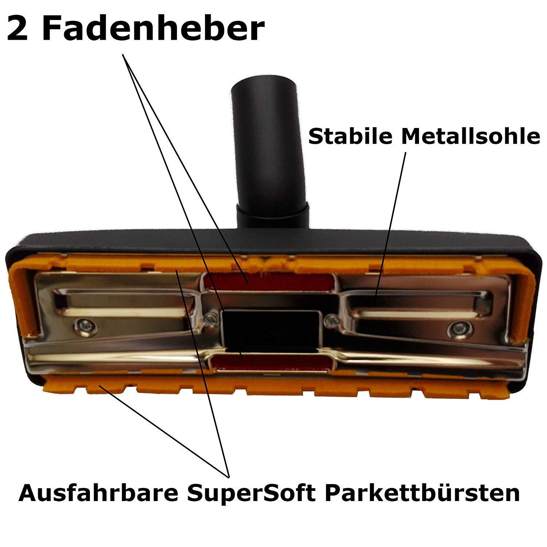 Maxorado - Boquilla para aspiradora (35 mm, Compatible con Bosch, Siemens, AEG, Quigg, Kärcher, Fakir EIO, Samsung, Panasonic, Clatronic): Amazon.es: Hogar