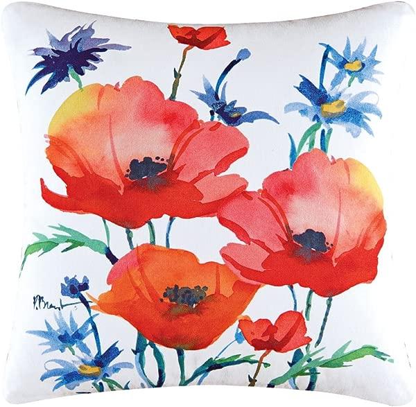 Veranda Poppy Pillow Multi