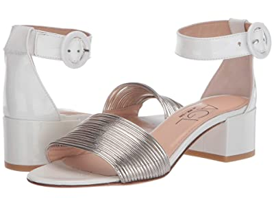 AGL Ankle Strap Sandal (Golden/White) Women