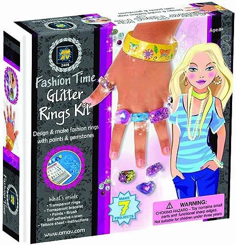 Glitter Ringe Kit