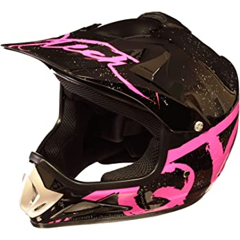 QYTK/® Casque Moto Cross Enfant Rose VTT BMX Motocross S/écurit/é Sport Ext/érieure MT-61 Full Face Moto Off-Road Helmet Cross Helm avec Lunettes Gants Masque