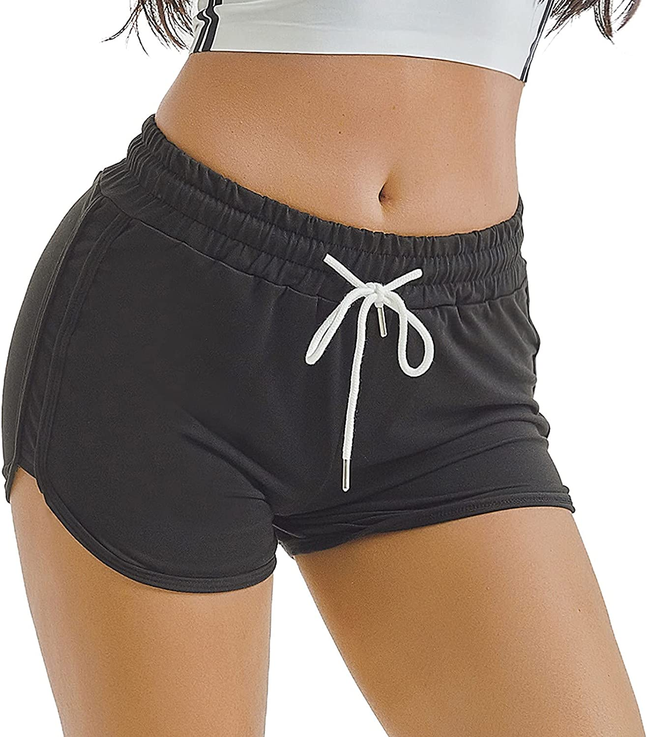 KEJINKCSEE Women Sports Max 90% OFF Shorts Yoga Sale Special Price Fitness Casual Running Short