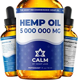 Hеmp Oil for Arthritis, Аnxiety Relief - Helps with Slееp, Stress, Hair Grown, Natural Peppermint Drops - Rich in Vitamins...