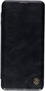 Nillkin Samsung Galaxy S10 Flip Mobile Cover Qin Flip Series Leather Case - Black