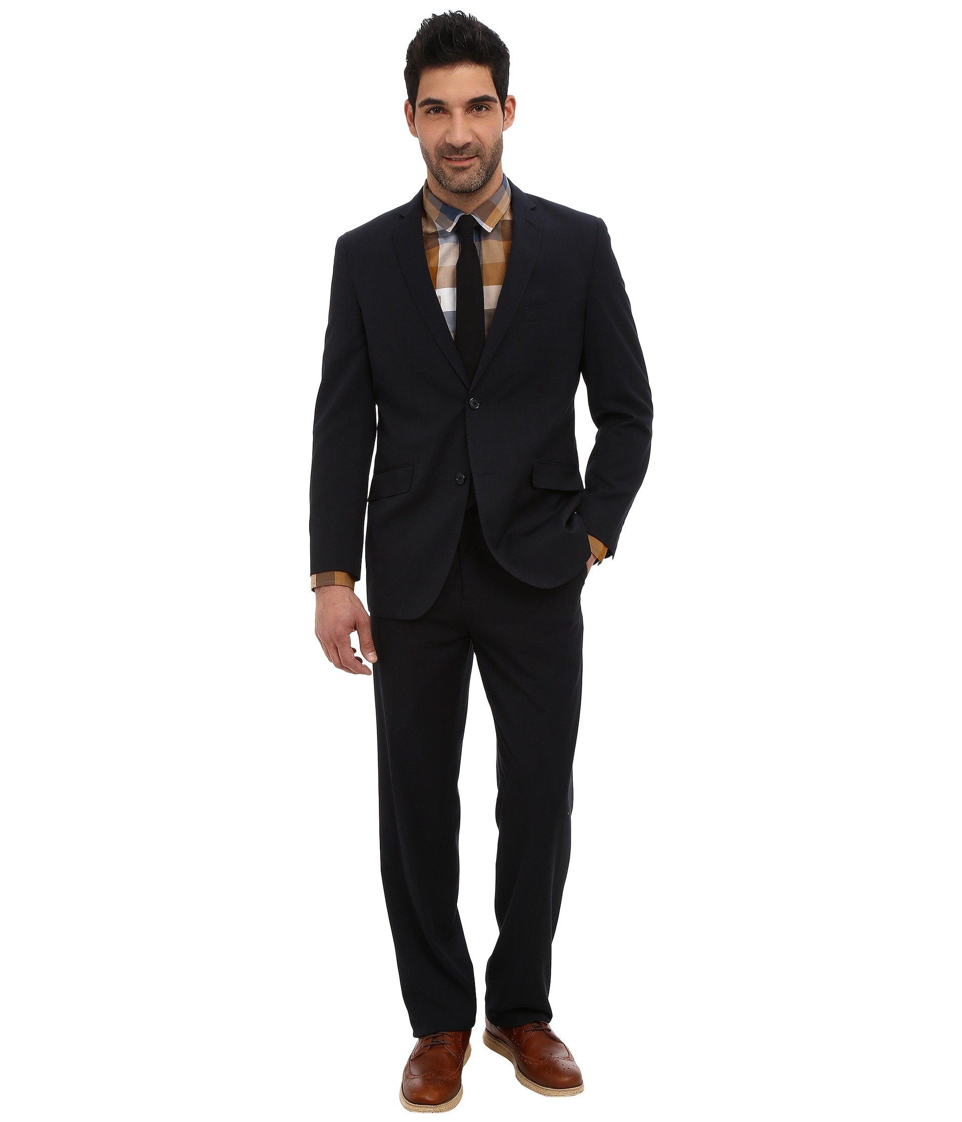 Vestido para Hombre U.S. POLO ASSN. 2 Button Solid Nested Suit  + U.S. POLO ASSN. en VeoyCompro.net