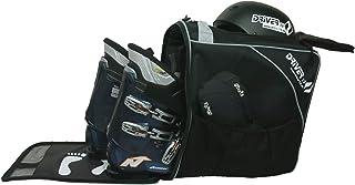 Driver13 Bolsa de Botas de esquí Combi con Compartimento para Casco (2019) Negro-Gris
