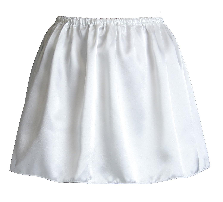 (ペチコート屋)透けないサイズ自由のペチコート 40cm丈 (ウエストは58cm~93cm)