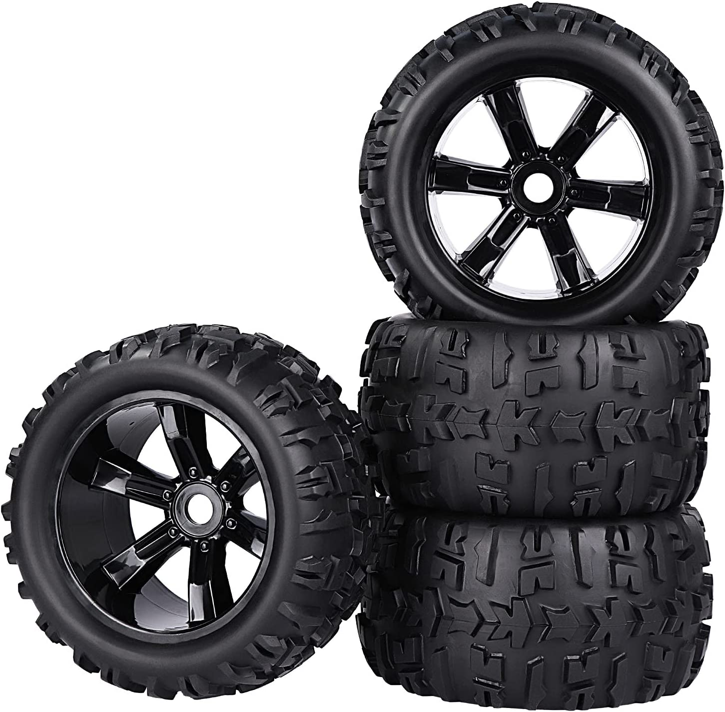 Aimrock Spasm price Our shop OFFers the best service 1 8 Pre-Mounted 17mm Hex a RC Wheels 3.9'' Truck Monster