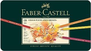 ファーバーカステル ポリクロモス色鉛筆セット 120色 缶入 110011 [日本正規品] [並行輸入品]