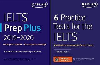 IELTS Prep Set: 2 Books + Online (Kaplan Test Prep)
