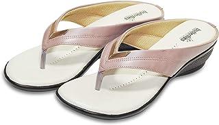Butterflies Steps Casual Wedges/Sandals for Womens/Girls (Mauve) (GHS-0065MV)