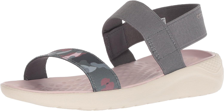 Crocs Womens Literide Graphic Sandal W Sport Sandal