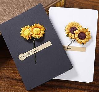 BC Worldwide Ltd cartolina d'auguri girasole secco compleanno festa della mamma festa del papà regalo di nozze anniversari...