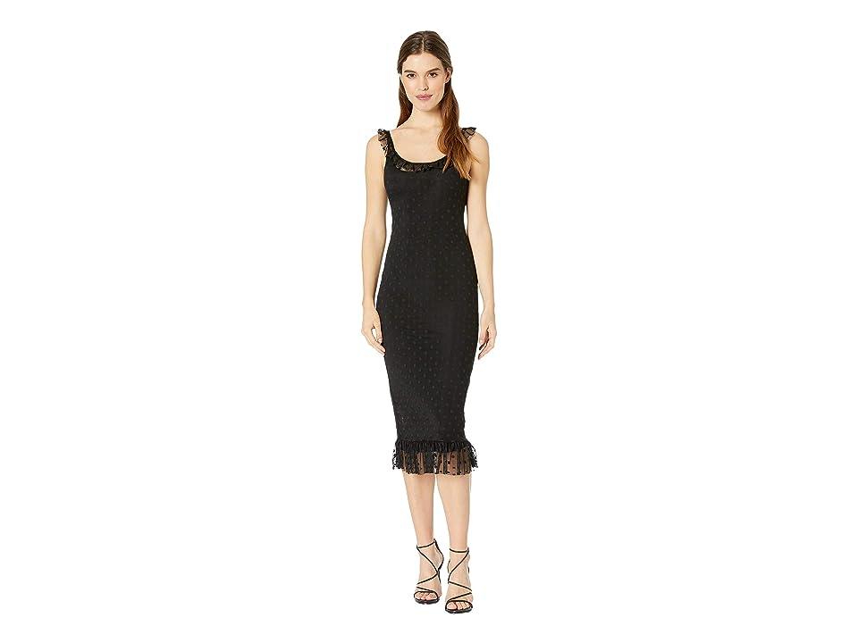 Amuse Society Black Dahlia Dress (Black) Women