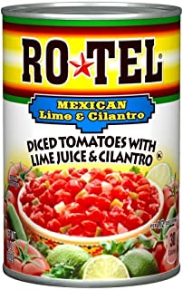 Ro-Tel, Diced Tomatoes, Mexican, 10oz Can (Pack of 3)