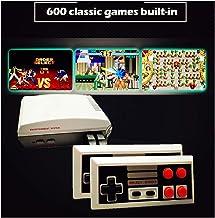 Mini TV Video Game 8 Bit Console HD 1080P | 600 Jeux Classic emblématiques Retro Vintage Nostalgie 90 | Connection HDMI | ...