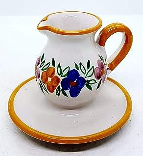 Portacandela Bugia piccola Portastuzzicadenti Handmade Le Ceramiche del Castello Idea Bomboniera