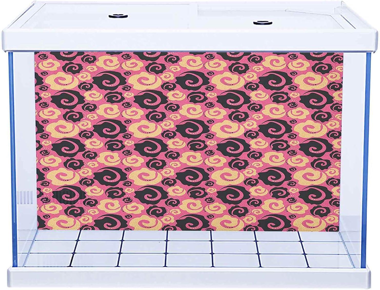 Aquarium Sticker Wallpaper Decoration Floral Japanese Discount is ...