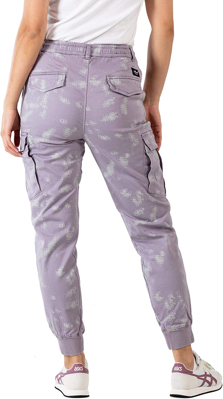 Reell Reflex Rib W Pantalon Script Camo Purple Grey