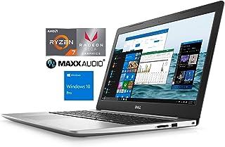 "Dell Inspiron 5575 Notebook, 15.6"" FHD, AMD Quad-Core Ryzen 7 2700U Upto 3.8GHz, 8GB RAM, 256GB SSD, Radeon Vega 10, HDMI,..."