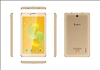 Sico Express3 Max Tablet, Dual SIM, 16 GB, 1 GB RAM, 3G, 7 Inch - Gold